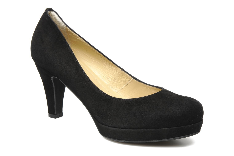 High heels Georgia Rose Taïma Black detailed view/ Pair view