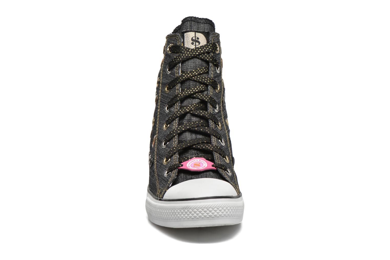 Sneaker Skechers Daddy's money- Loose Change 39111 schwarz schuhe getragen