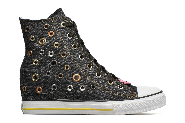 Sneaker Skechers Daddy's money- Loose Change 39111 schwarz ansicht von hinten