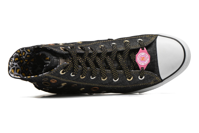 Sneaker Skechers Daddy's money- Loose Change 39111 schwarz ansicht von links
