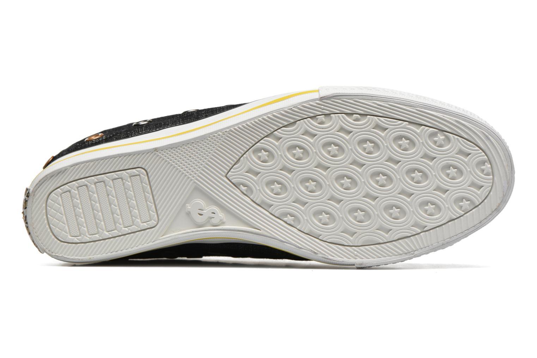 Sneaker Skechers Daddy's money- Loose Change 39111 schwarz ansicht von oben
