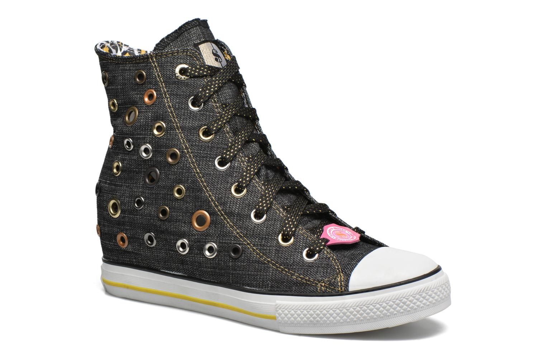 Sneakers Skechers Daddy's money- Loose Change 39111 Sort detaljeret billede af skoene