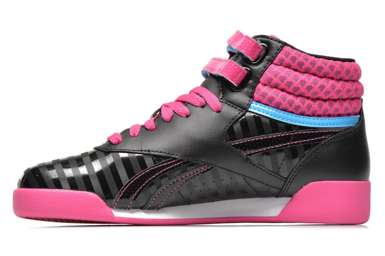 F/S Hi KIDS Black/Charged Pink/California Blue/White
