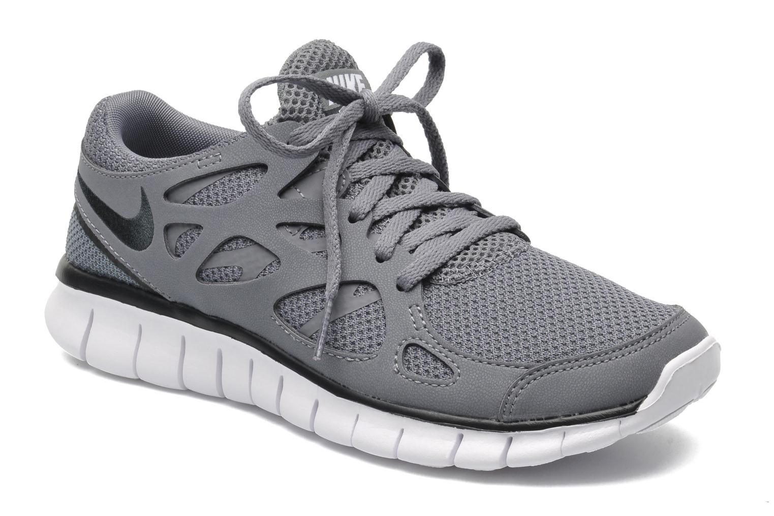 Wmns Nike Free Run+ 2 Ext Cool Grey/Anthracite-Blk-White