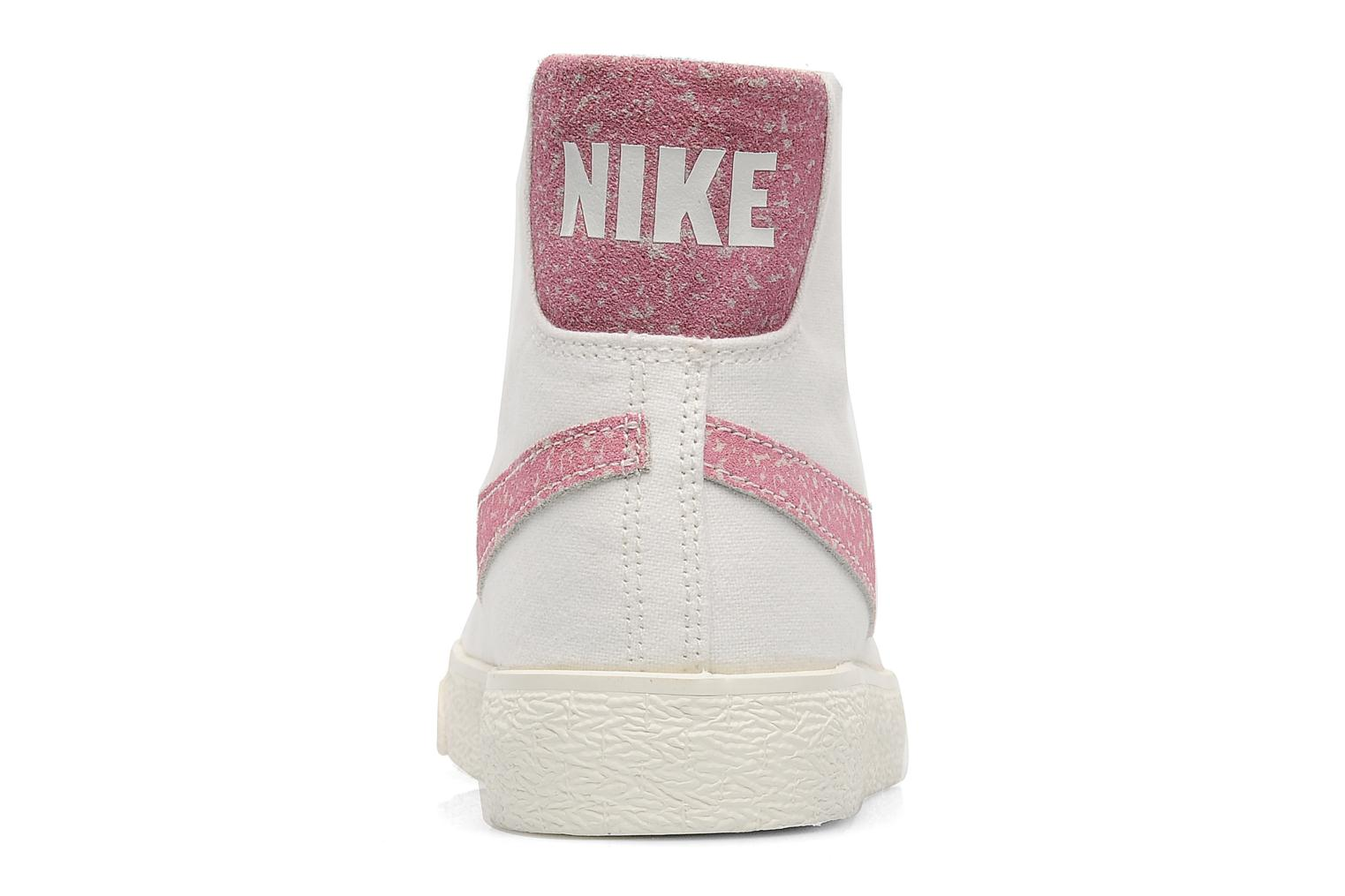Trainers Nike Wmns Blazer Mid Decon Cvs White view from the right