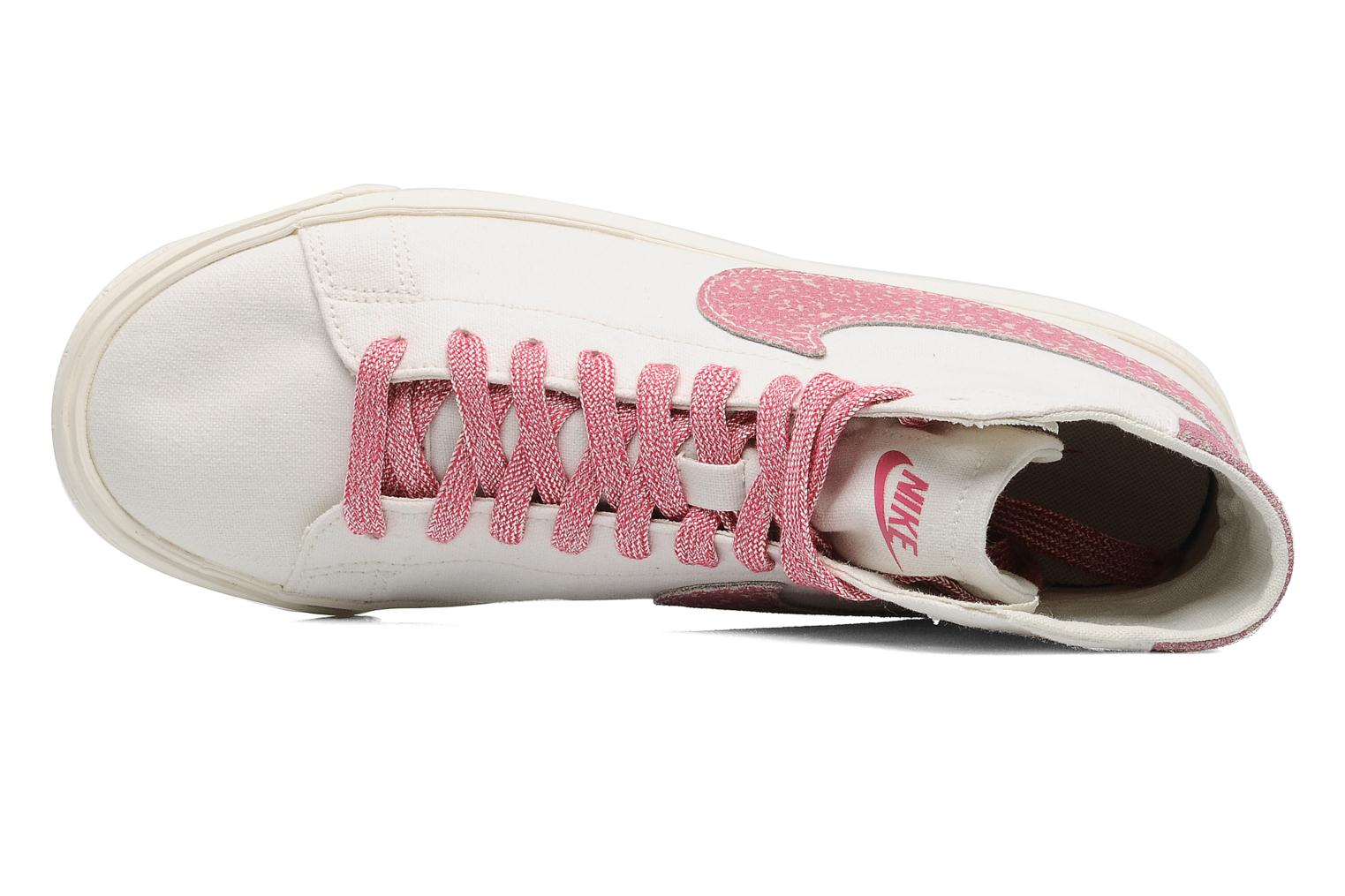 Trainers Nike Wmns Blazer Mid Decon Cvs White view from the left