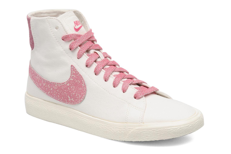 Trainers Nike Wmns Blazer Mid Decon Cvs White detailed view/ Pair view