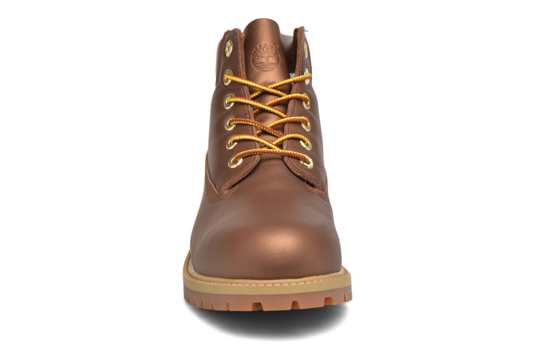 Stiefeletten & Boots Timberland 6 In Premium WP Boot braun schuhe getragen