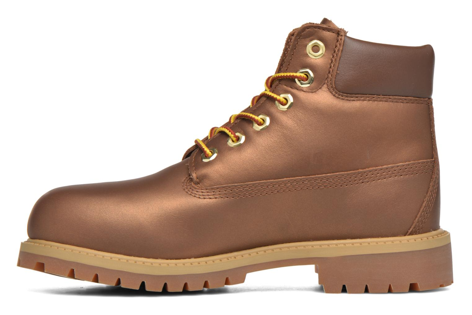Botines  Timberland 6 In Premium WP Boot Marrón vista de frente