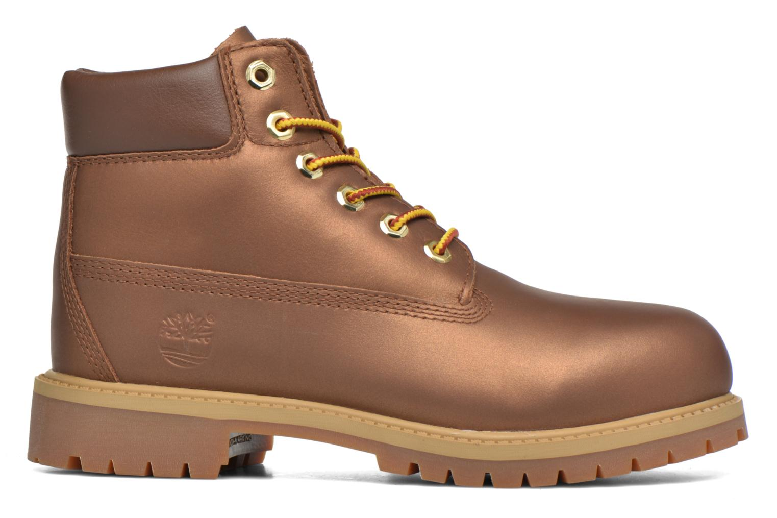 Botines  Timberland 6 In Premium WP Boot Marrón vistra trasera