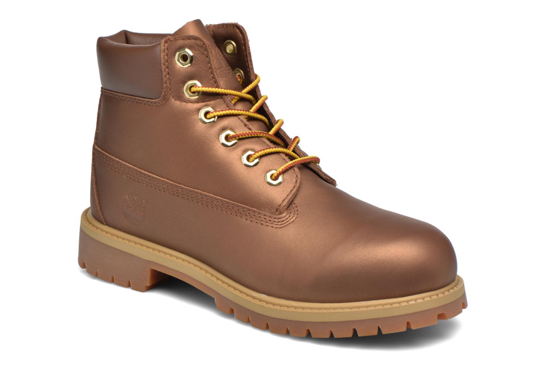Stiefeletten & Boots Timberland 6 In Premium WP Boot braun detaillierte ansicht/modell