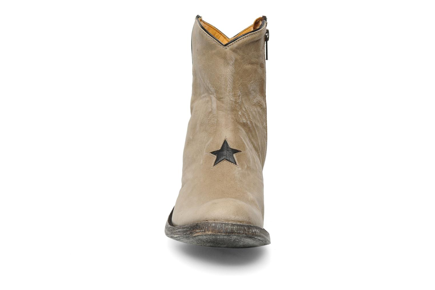 Ankle boots Mexicana Star Beige model view