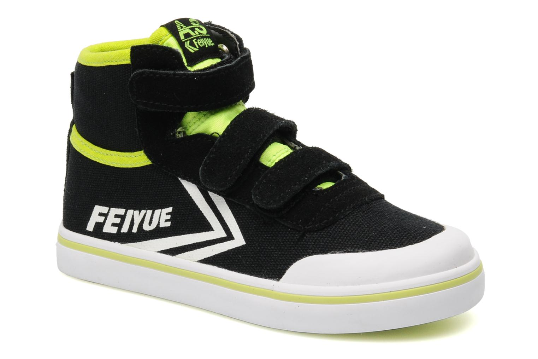 As High Kid Scratch Neon pop Black / White - Lime neon