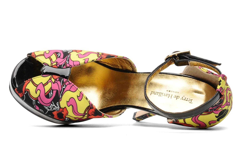 Sandales et nu-pieds Terry de Havilland Poppy Multicolore vue gauche