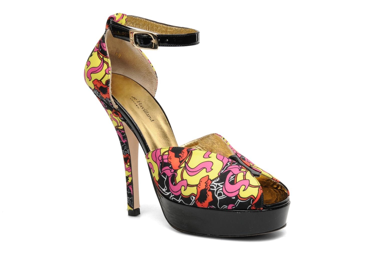 Sandales et nu-pieds Terry de Havilland Poppy Multicolore vue détail/paire