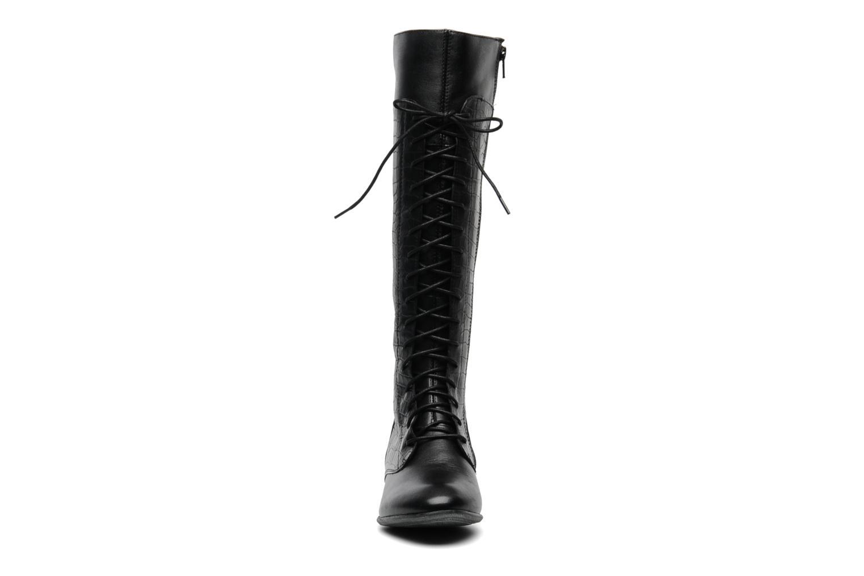 Bottes Hush Puppies Farland_16Bt Noir vue portées chaussures