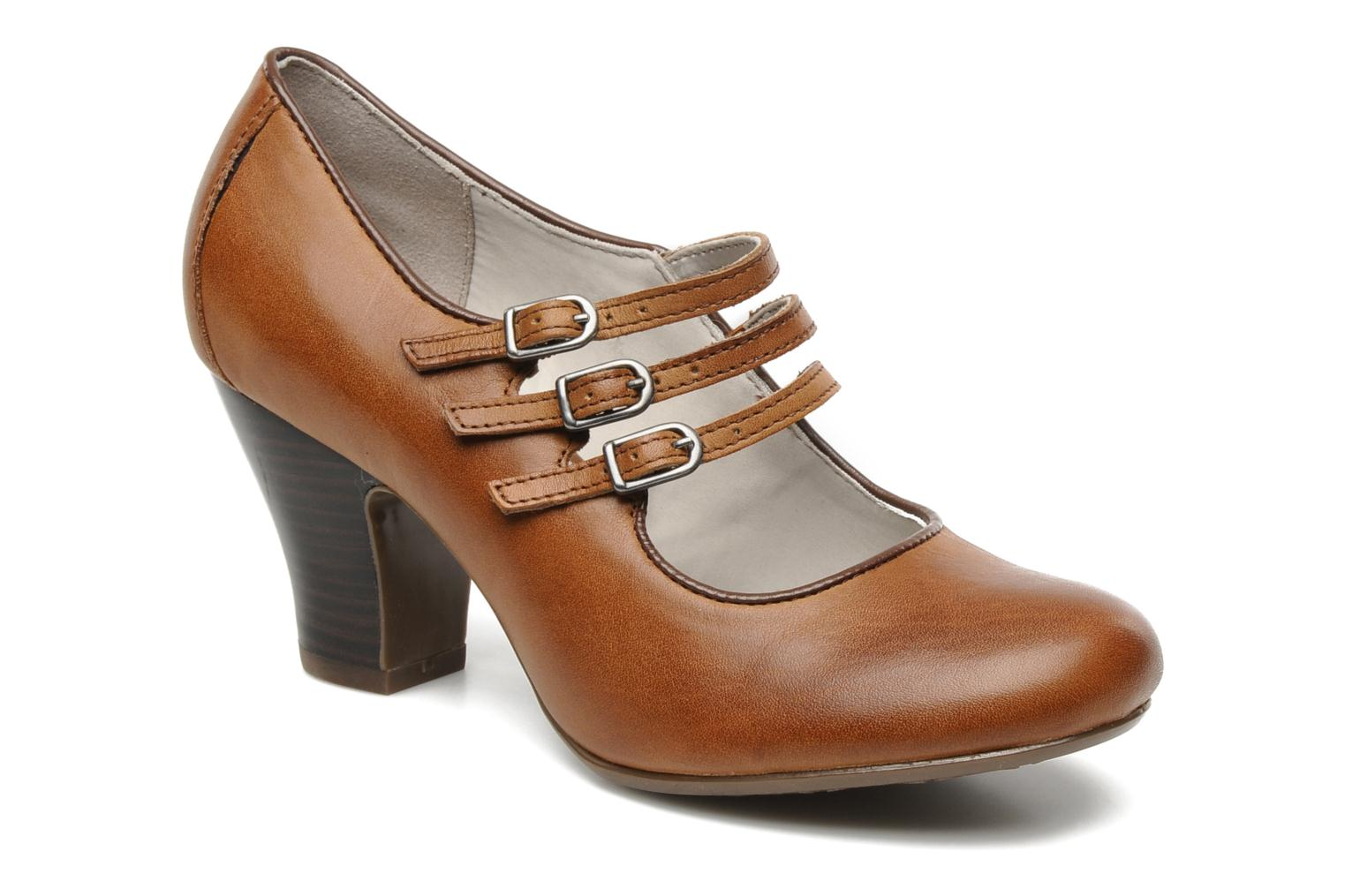 Lonna Mary Jane Tan Leather