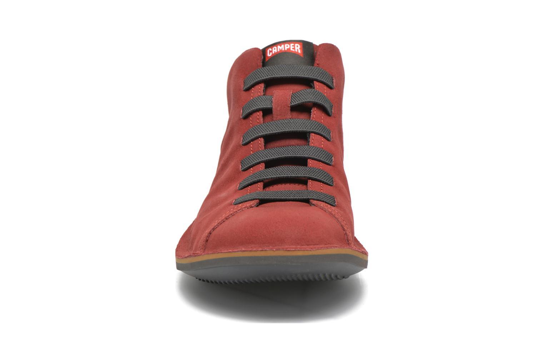 Sneaker Camper Beetle 36678 rot schuhe getragen
