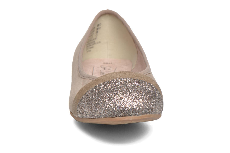 Ballerines Jana shoes Molia Beige vue portées chaussures