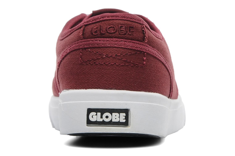 Chaussures de sport Globe MOTLEY KID Bordeaux vue droite