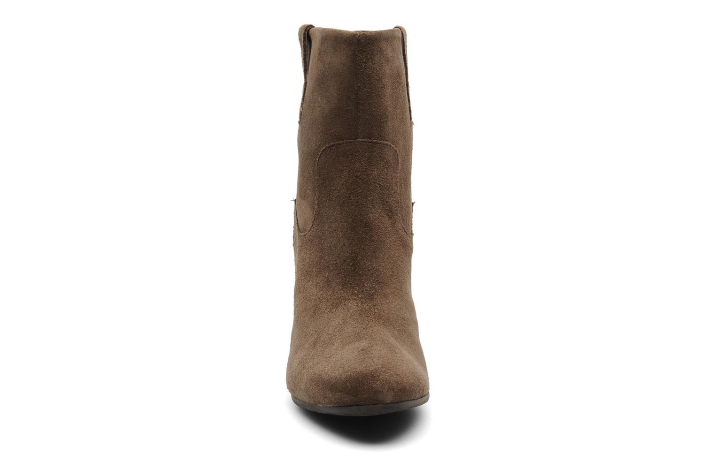 Bottines et boots Janet & Janet Juffle Marron vue portées chaussures