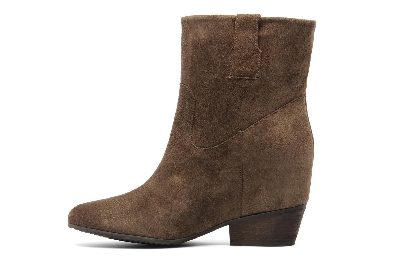 Bottines et boots Janet & Janet Juffle Marron vue face