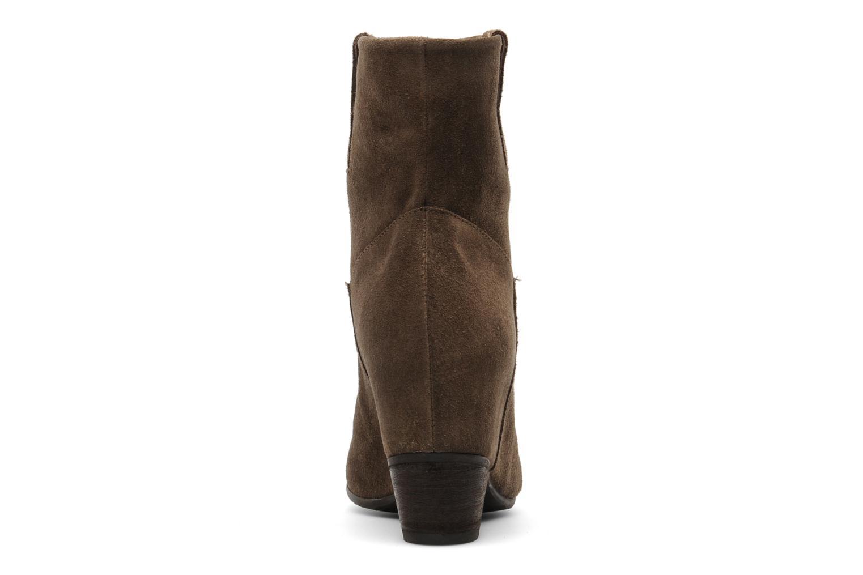 Bottines et boots Janet & Janet Juffle Marron vue droite