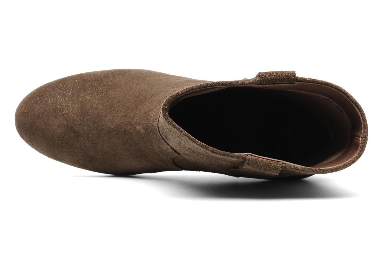 Bottines et boots Janet & Janet Juffle Marron vue gauche