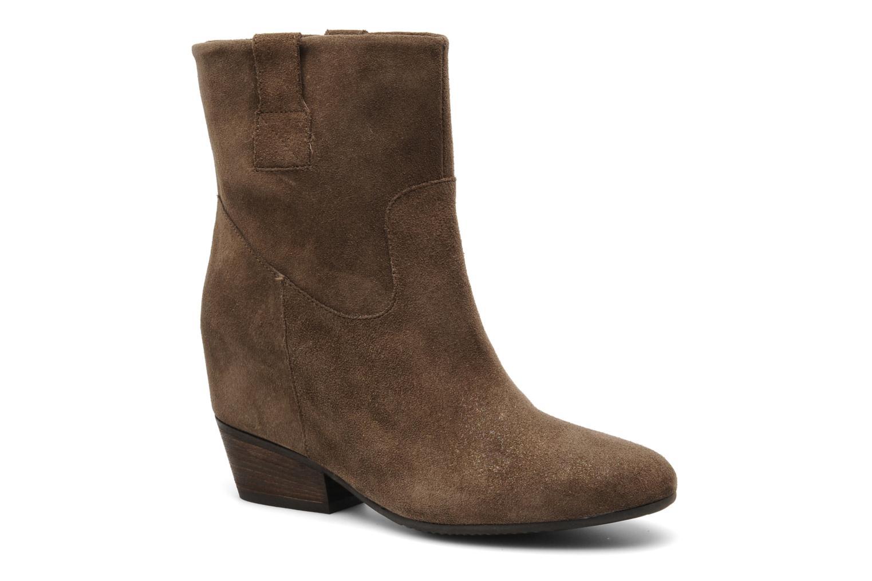 Bottines et boots Janet & Janet Juffle Marron vue détail/paire