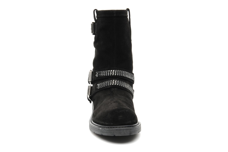 Bottines et boots Janet Sport Javia Noir vue portées chaussures