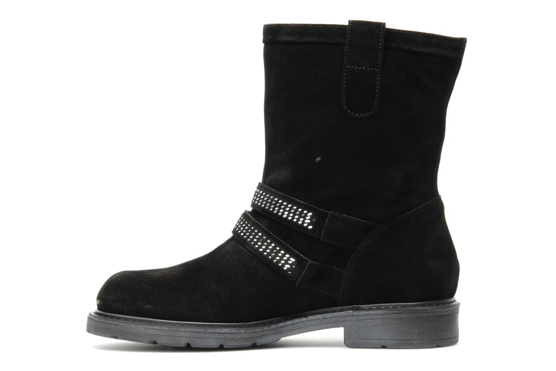 Bottines et boots Janet Sport Javia Noir vue face