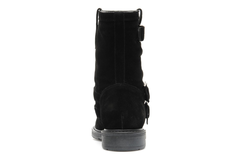 Bottines et boots Janet Sport Javia Noir vue droite