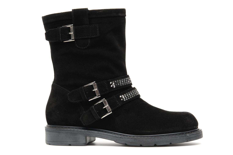 Bottines et boots Janet Sport Javia Noir vue derrière
