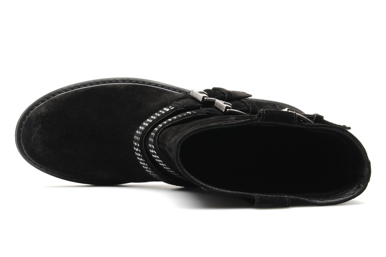 Bottines et boots Janet Sport Javia Noir vue gauche