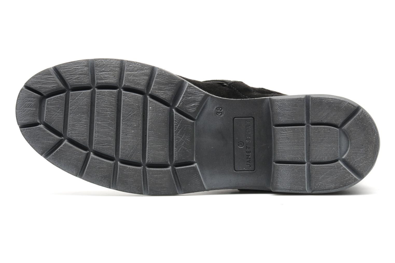 Bottines et boots Janet Sport Javia Noir vue haut