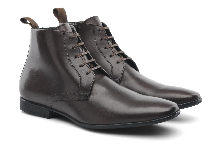 Chaussures à lacets Kenzo Wernert Marron vue 3/4
