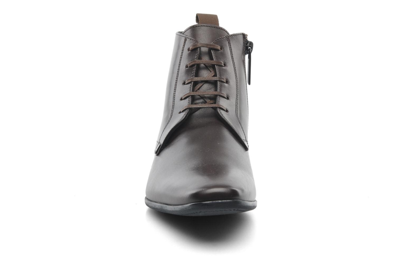 Chaussures à lacets Kenzo Wernert Marron vue portées chaussures