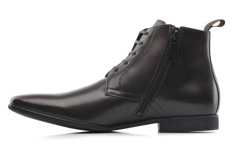 Chaussures à lacets Kenzo Wernert Marron vue face
