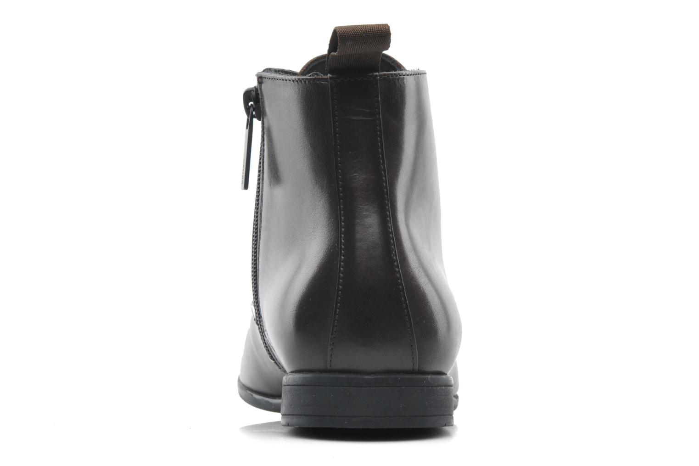 Chaussures à lacets Kenzo Wernert Marron vue droite