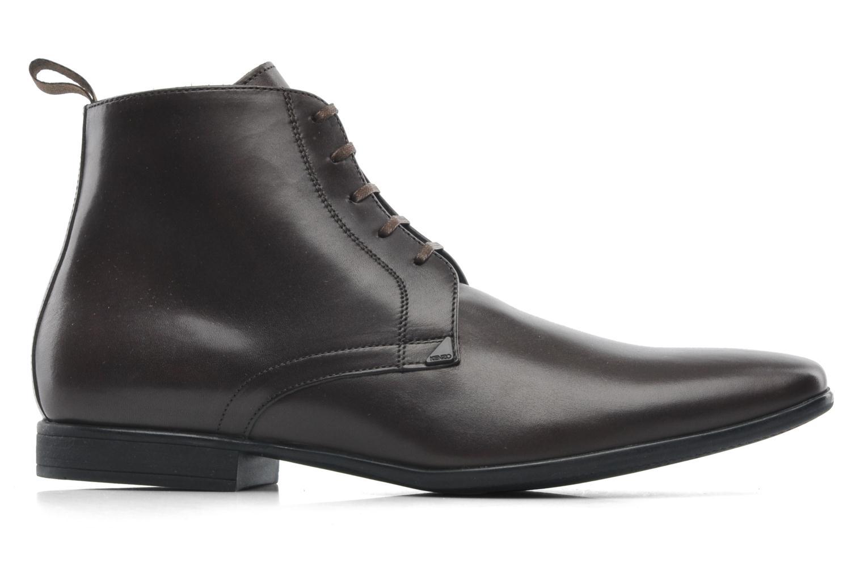 Chaussures à lacets Kenzo Wernert Marron vue derrière
