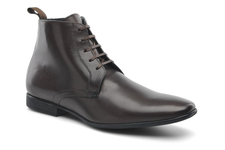Chaussures à lacets Kenzo Wernert Marron vue détail/paire