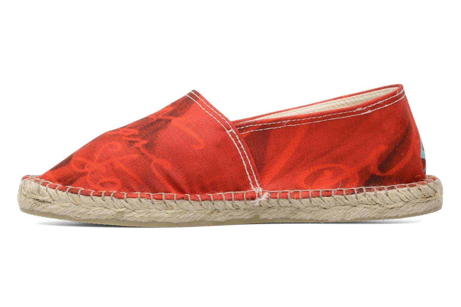 Espadrilles String Republic Jesus is Lord by Sockho W Rouge vue face