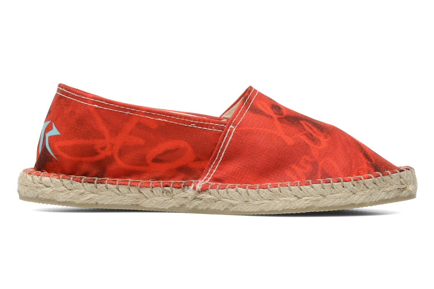 Espadrilles String Republic Jesus is Lord by Sockho W Rood achterkant