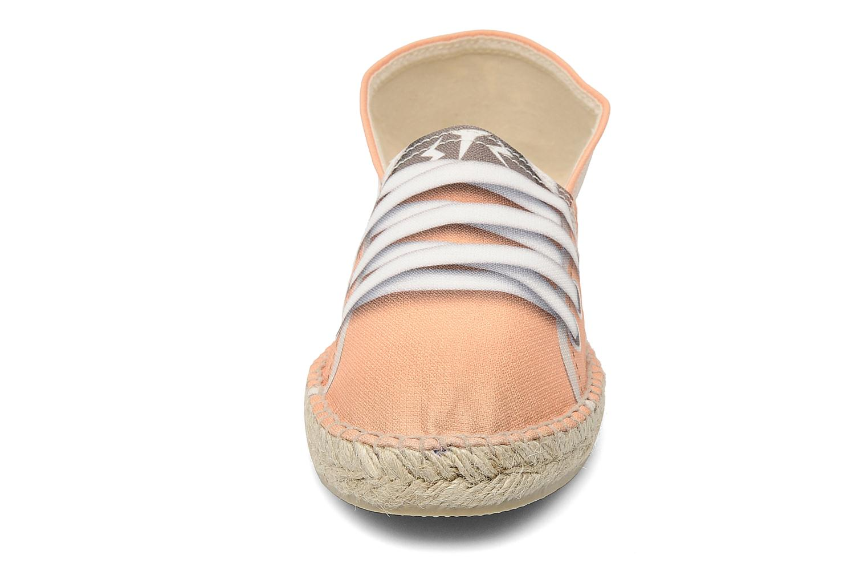 Espadrilles String Republic Salmon Koala W Orange vue portées chaussures