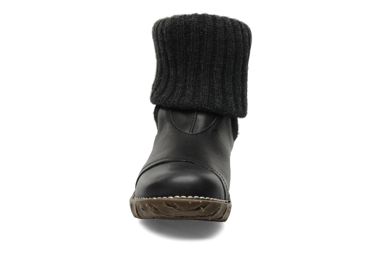 Bottines et boots El Naturalista Iggdrasil N097 Noir vue portées chaussures