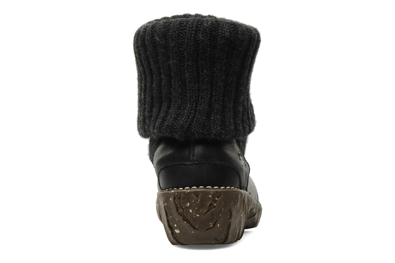 Bottines et boots El Naturalista Iggdrasil N097 Noir vue droite