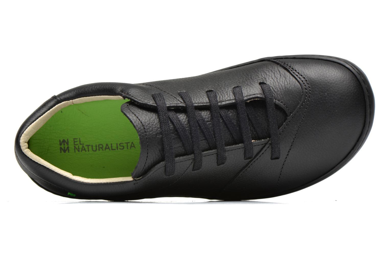 Chaussures à lacets El Naturalista Meteo N211 Noir vue gauche
