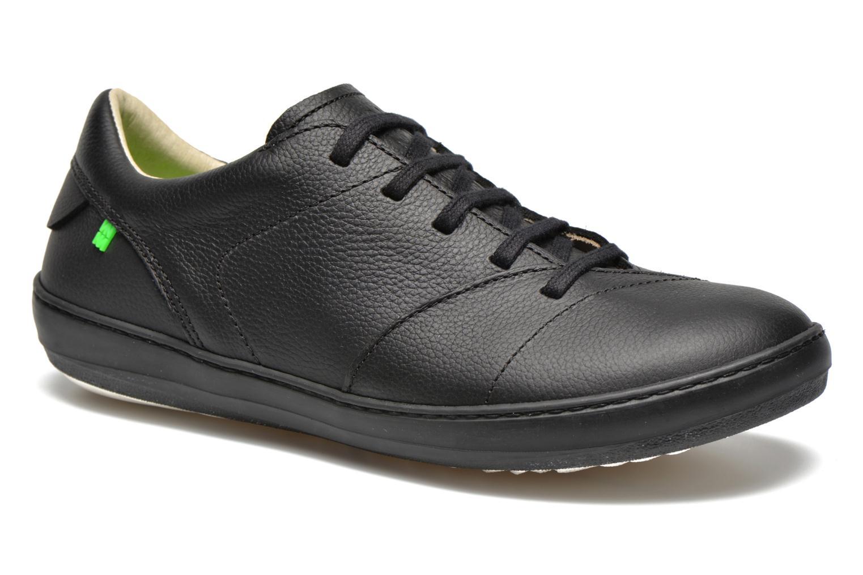Chaussures à lacets El Naturalista Meteo N211 Noir vue détail/paire