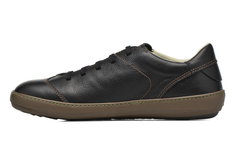 Zapatos con cordones El Naturalista Meteo N211 Negro vista de frente