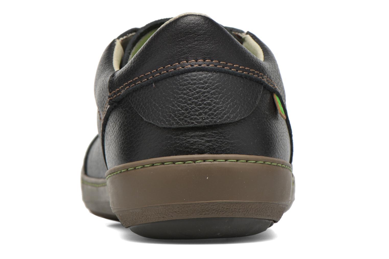 Zapatos con cordones El Naturalista Meteo N211 Negro vista lateral derecha
